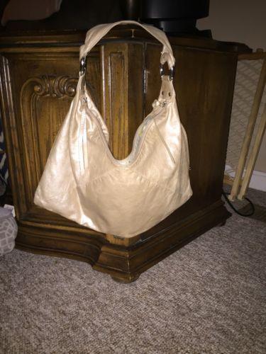 HOBO International Medium Gold Metallic Handbag