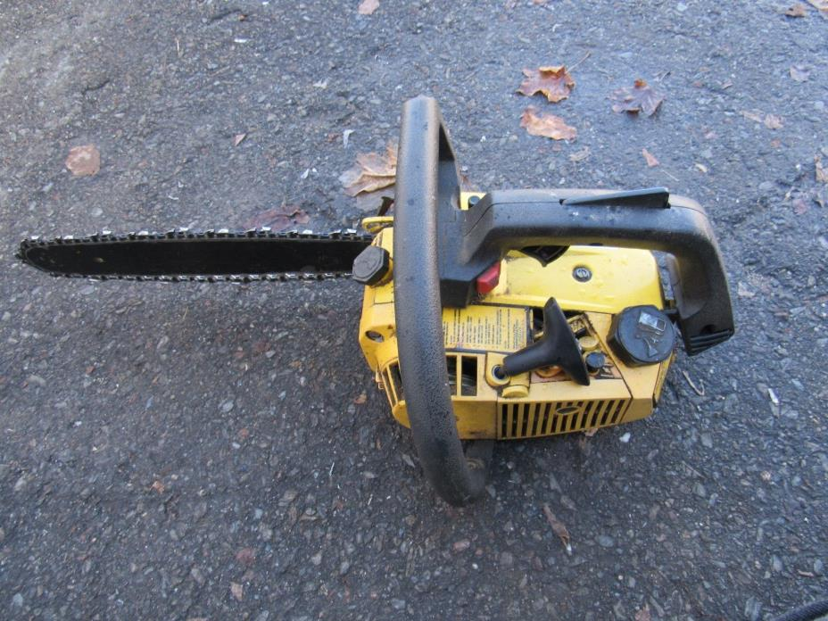 mcculloch power mac 310 chainsaw for parts