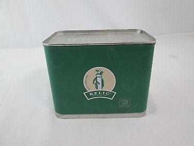 RELIC Fossil Golf Club Bag Clock Vintage  2