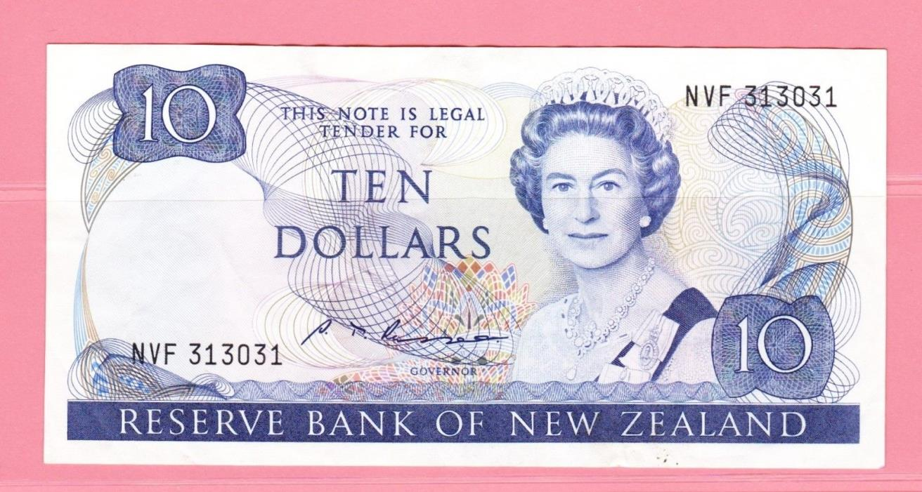 "10 Dollars Bank Note - New Zealand ""Queen Elizabeth II"" (1981- 1985)"