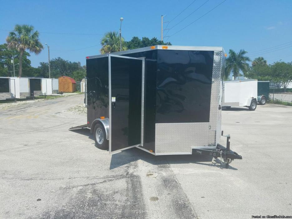 7 x 10 Enclosed Trailers