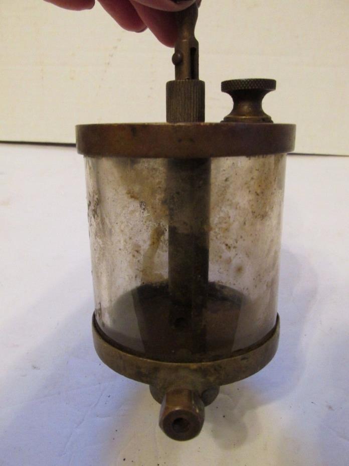 Antique Oiler Brass Hit & Miss Engine Essex