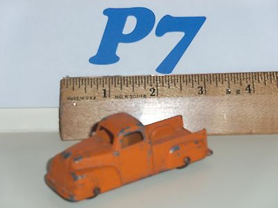 Tootsie Toy Vintage Ford Pick Up Truck (orange) - 22b