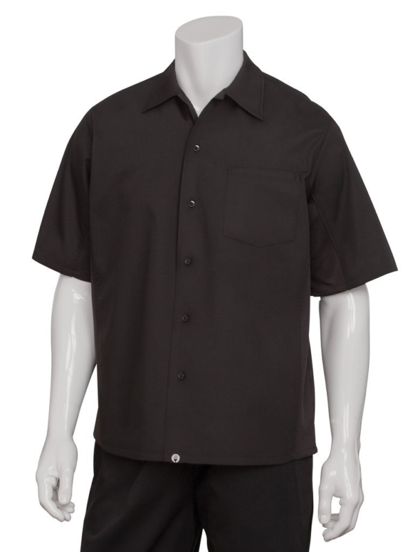 Chef Works Men's Cool Vent Cook Shirt (CSCV)