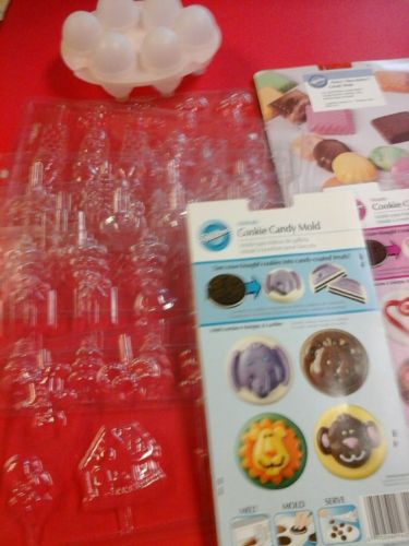 10 Assorted Candy Molds