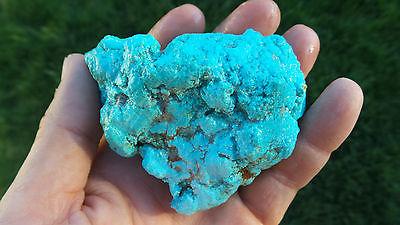 Superb large unstabilized 267 g Turquoise rough mineral specimen!