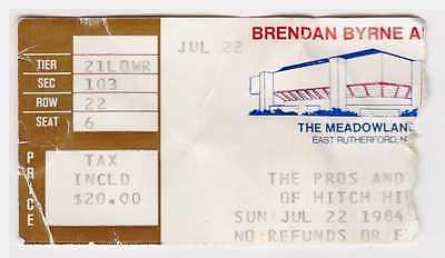 Roger Waters - 7-22-84 - Brendan Byrne Arena concert ticket stub 1984 Pink Floyd
