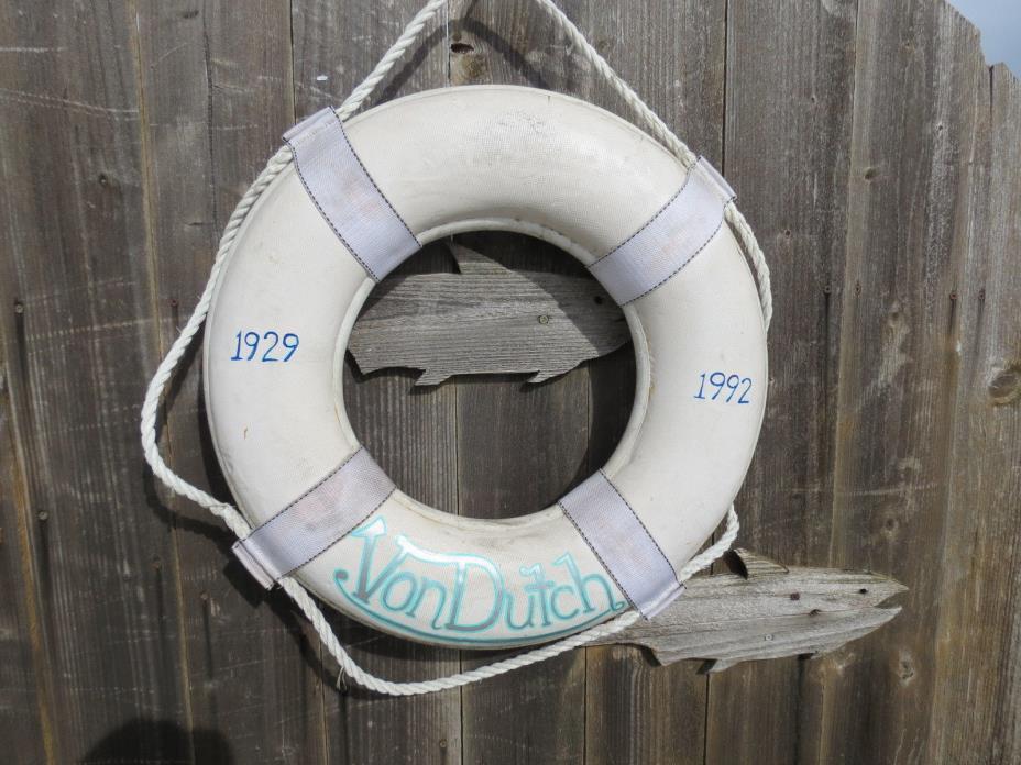 20 inch LIFE PRESERVER RING SAVER FLOAT BUOY BOUY (#85)