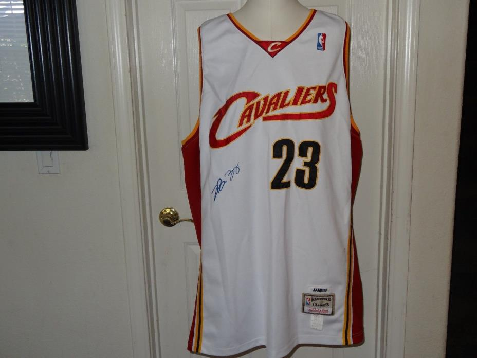 LeBron James 23 Stitched Cleveland Cavaliers Jersey NBA Hardwood 3XL