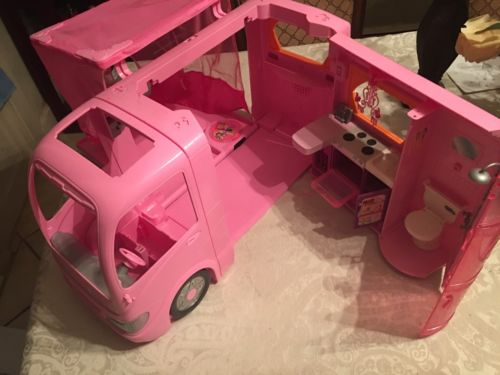 barbie camper and esv Escalade