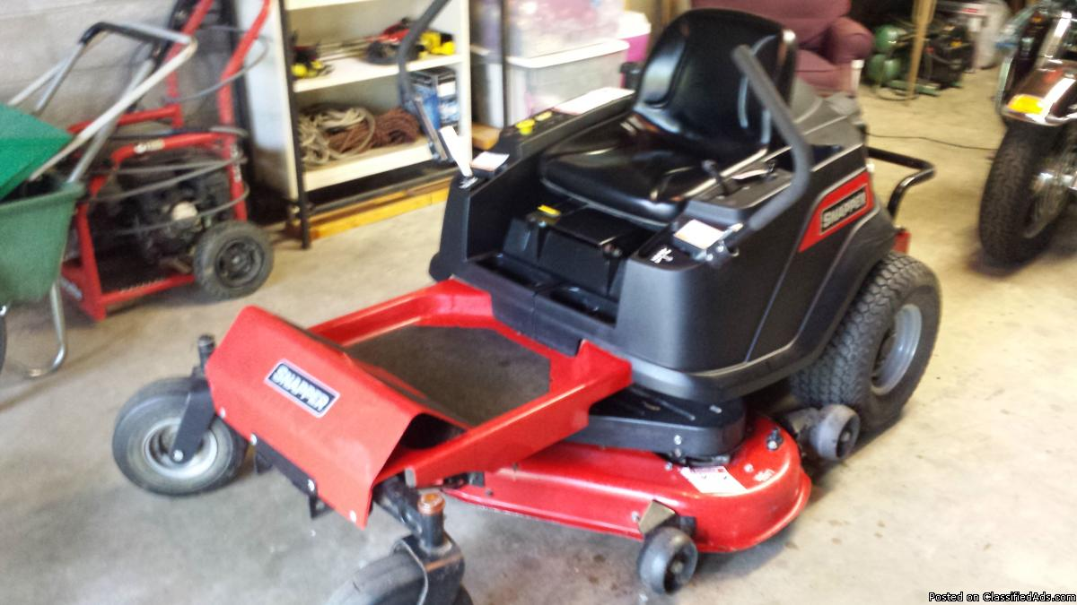 Snapper 200 zero turn mower