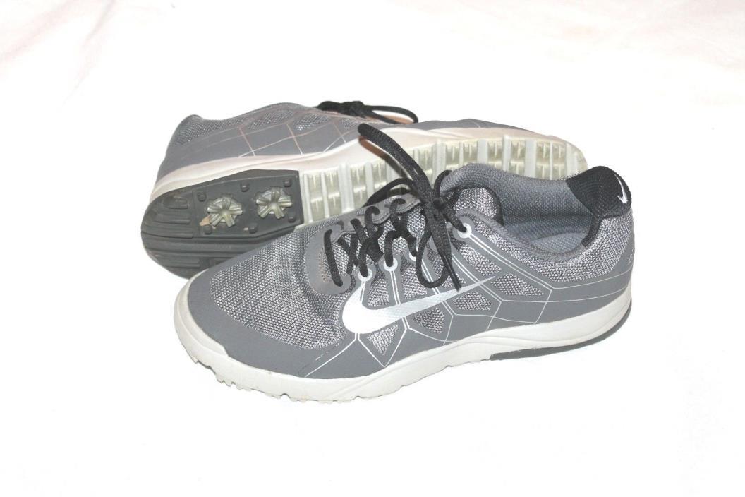Nike Range Junior Golf Shoes Grey Size 5 Y