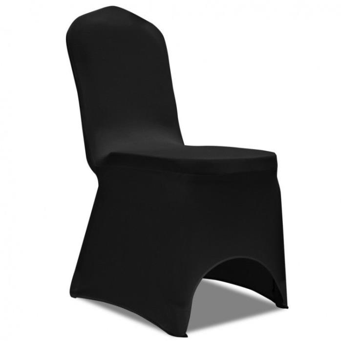 Black Chair Covers Lot 50 Pc Stretch Wedding Banquet Folding Party Chairs Cover