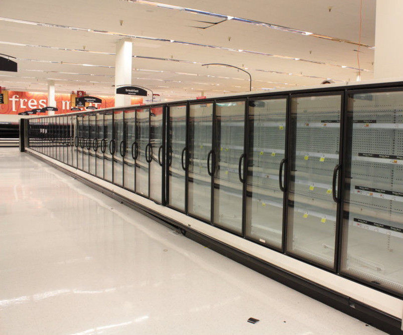 2011 Hussmann RLN 34 Door Freezer/Cooler Display (gas Defrost)(frozen food)))