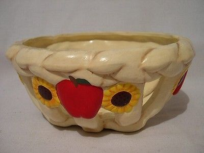 FRUIT & FLOWERS   LATTICE DEORATIVE   BOWL