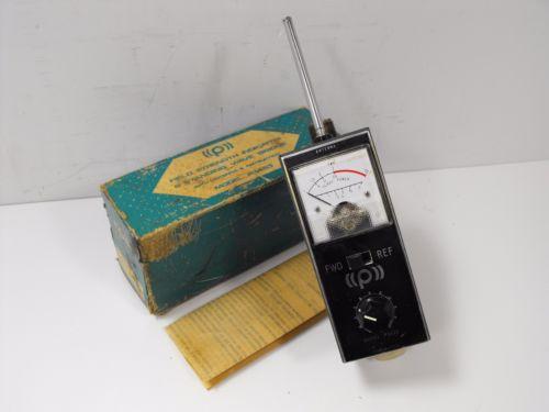 Pace P5453 Field Strength Meter / SWR Bridge for Ham Radio +Orig Box, Manual