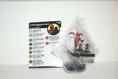 Deadpool and X-Force ~ DEADPOOL MERC WITH A MOUTH #060 HeroClix super rare #60