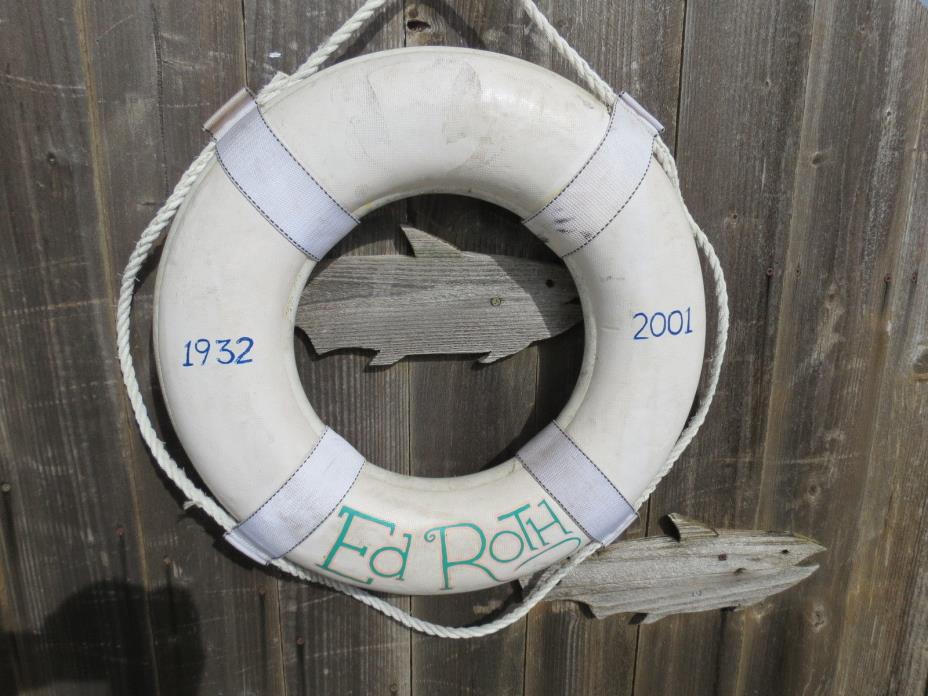 20 inch LIFE PRESERVER RING SAVER FLOAT BUOY BOUY (#84)