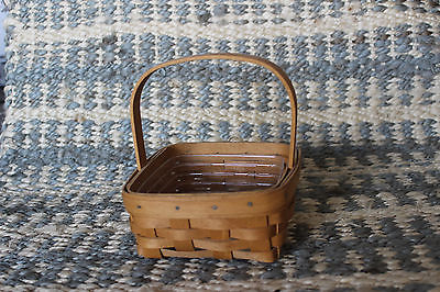 Longaberger Coaster Tote with Protector