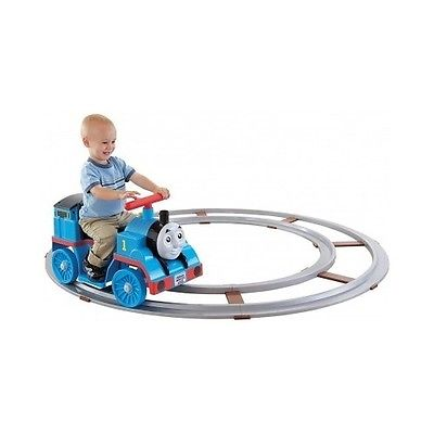 Thomas The Train Blue Indoor Set Tracks Toddler Ride-On Batteries Charger