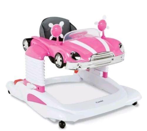 Combi All In One Mobile Entertainer BABY WALKER, Baby ACTIVITY WALKER, Pink