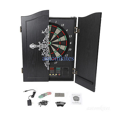 Portable Electric Dartboard Pub Party Club Home For Fun Office 26 Games Computer