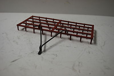 1/16 IH International Harvester drag harrow by Ertl, great shape hard to find