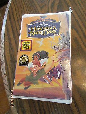 Walt Disney Movie Hunchback of Notre Dame  Sealed VHS Clamshell