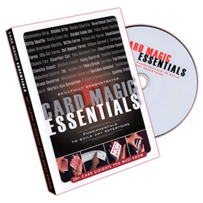 Card Magic Essentials DVD - Magic - Tricks