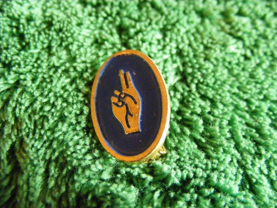 Vintage girl scout promise pin eBay