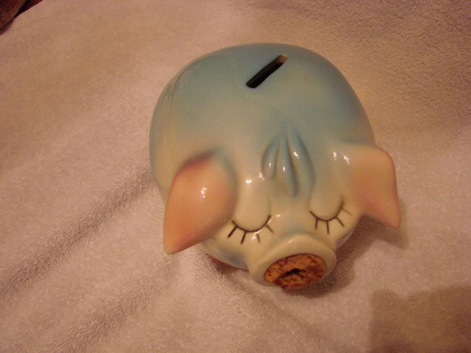 CORKY THE PIG, PIGGY BANK, BY HULL, 1957
