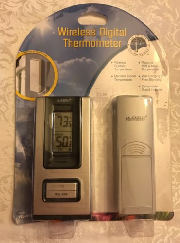 New Wireless Digital Thermometer Outdoor Indoor La Crosse Technology Weather St
