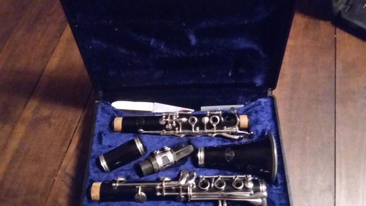 clarinet evette by buffet
