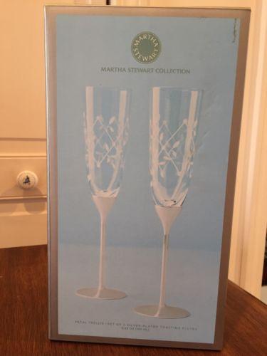 Martha Stewart Champagne Flutes