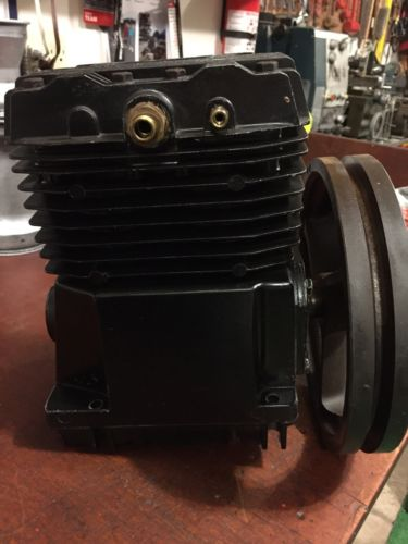 Used 2 Horsepower Cast Iron 2 Stage Air Compressor Pump