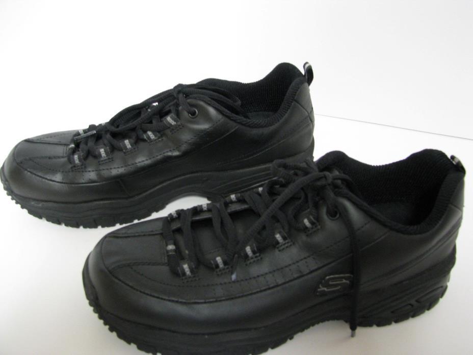 Skechers Women's Work Slip Resistant Shoes, Size 10 Wide Width