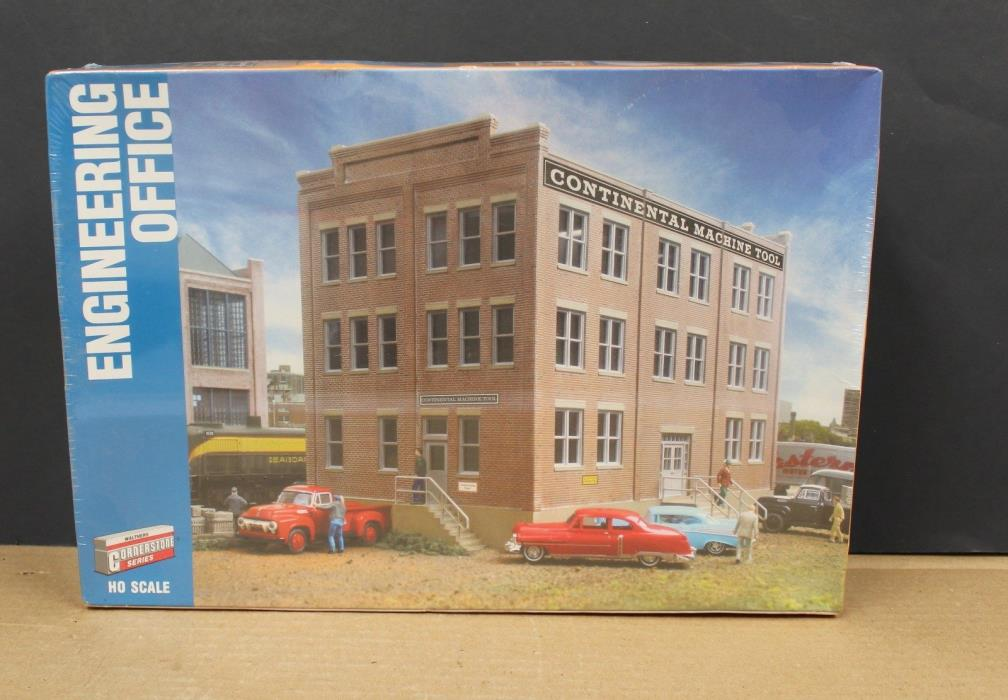 Walthers Cornerstone 933-2967 HO Continental Engineering Office kit NIB Sealed