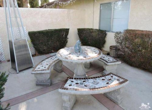 Concrete Patio Table For Sale Classifieds