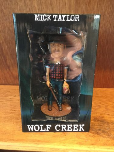 Wolf Creek Mick Taylor Bobble Head Figure (Signed By John Jarratt)