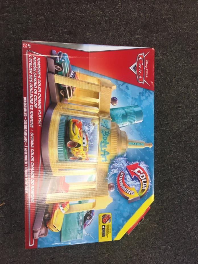 Disney/Pixar Cars Color Change Ramone's Auto Body Shop Playset