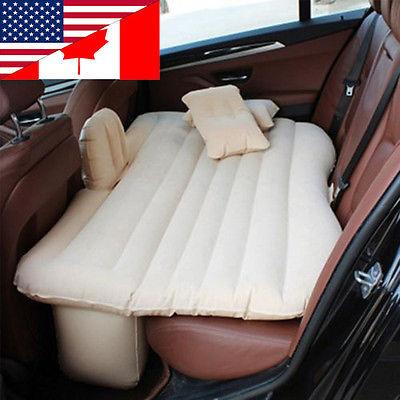 Car Back Seat Cover Car Air Mattress Travel Bed Inflatable Mattress Air Bed