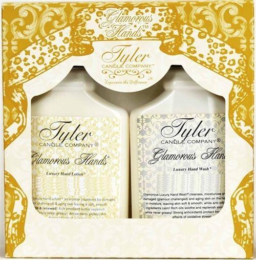 Tyler Candle Glamorous Hands Gift Set - High Maintenance wash & lotion