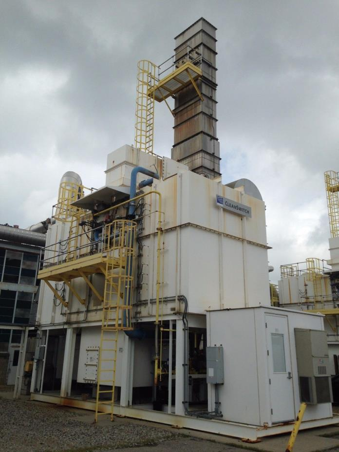 MEGTEC Cleanswitch 40,000 Regenerative Thermal Oxidizer (RTO)
