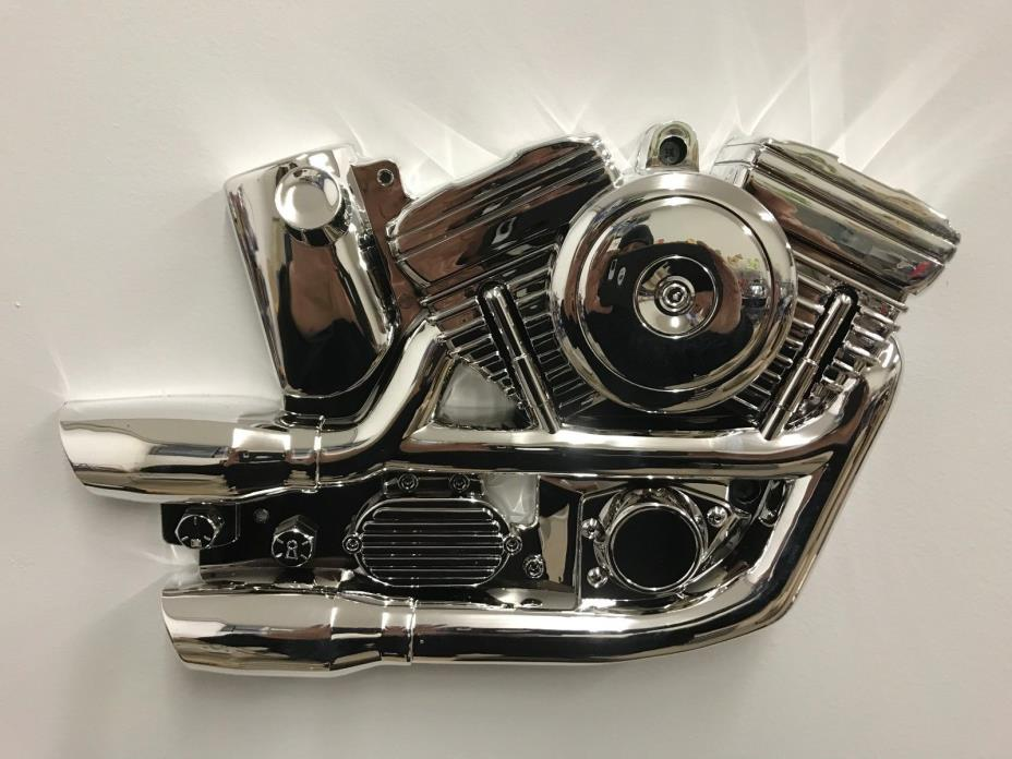 Harley Plastic Motor wall display