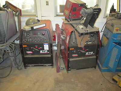(2 QTY) LINCOLN PRECISION 275 TIG WELDER WORKS WELL