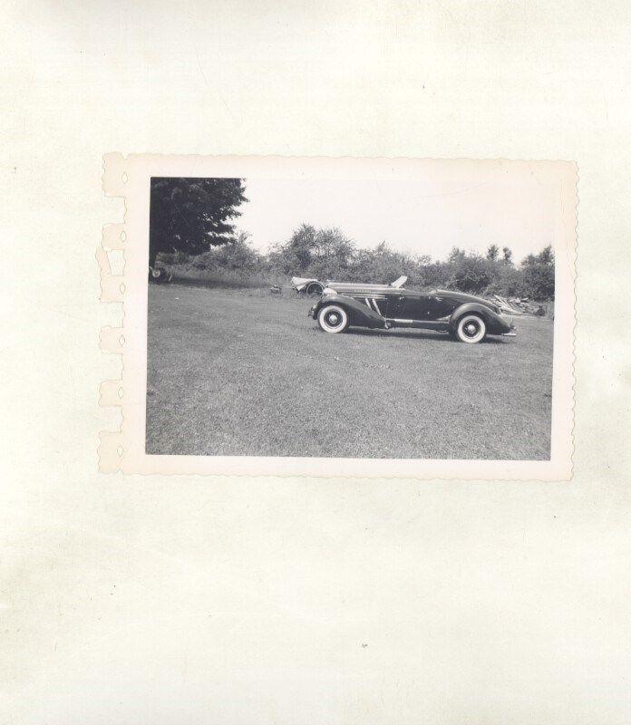 1935 1936 Auburn Speedster ORIGINAL Photograph ww7147