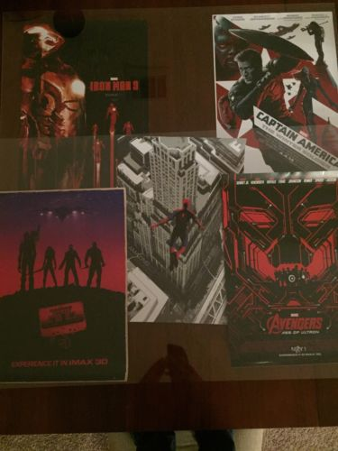 Marvel Movie MCU Exclusive IMAX Poster Lot