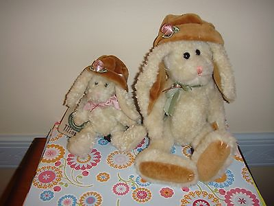 Boyds Bears Brigette Delapain And Mini Delapain Bunny Rabbit
