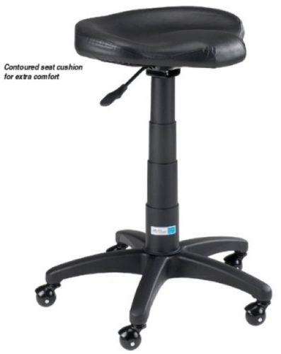 Master Equipment Pet Contoured Grooming Stool, Black