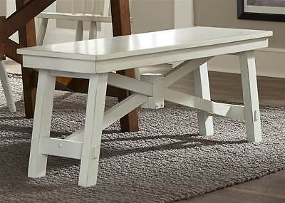 Dining Bench in White Finish [ID 3495562]
